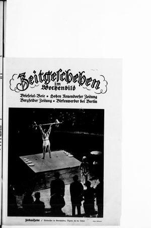 Zeitgeschehen im Wochenbild on Feb 16, 1930