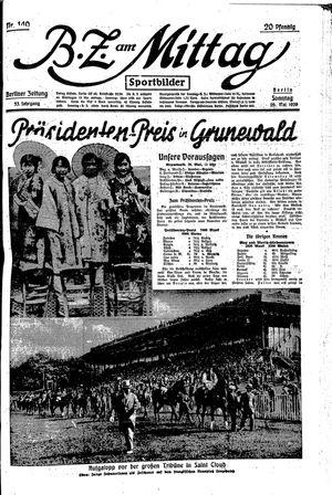 BZ am Mittag vom 26.05.1929
