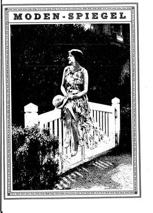 Berliner Tageblatt und Handelszeitung vom 28.05.1929
