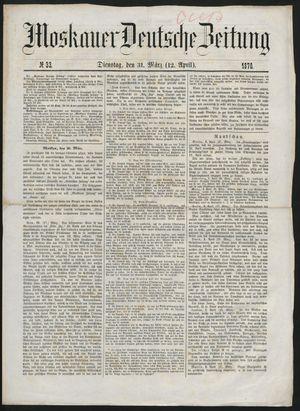 Moskauer deutsche Zeitung vom 12.04.1870