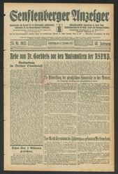 Senftenberger Anzeiger