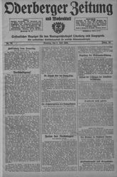 Oderberger Zeitung und Wochenblatt