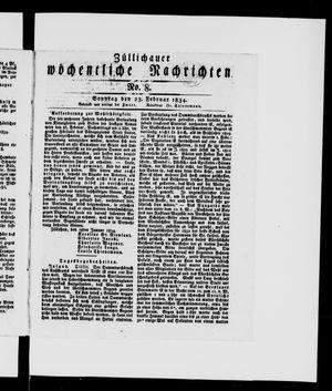 Züllichauer wöchentliche Nachrichten vom 23.02.1834