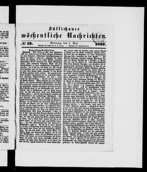 Züllichauer wöchentliche Nachrichten vom 07.05.1837