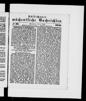 Züllichauer wöchentliche Nachrichten vom 04.07.1841