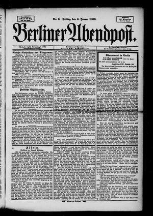 Berliner Abendpost on Jan 4, 1889