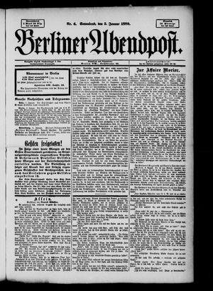 Berliner Abendpost on Jan 5, 1889