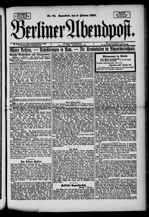 Berliner Abendpost on Feb 9, 1889