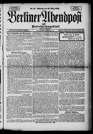 Berliner Abendpost on Mar 20, 1889