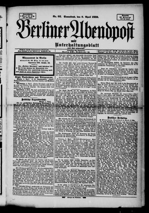 Berliner Abendpost on Apr 6, 1889