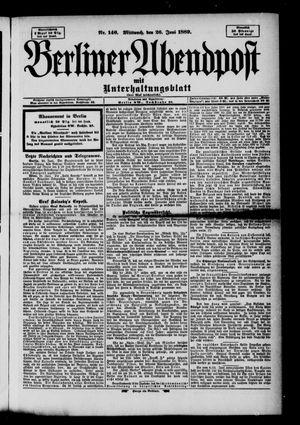 Berliner Abendpost on Jun 26, 1889