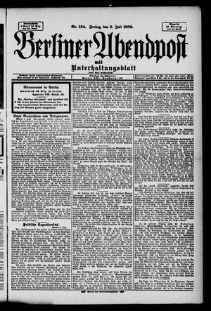 Berliner Abendpost on Jul 5, 1889