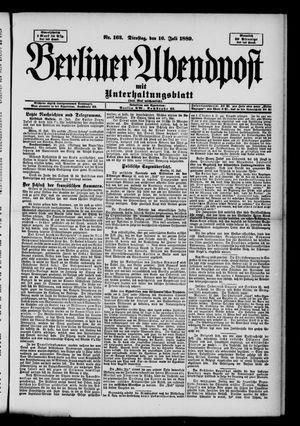 Berliner Abendpost on Jul 16, 1889