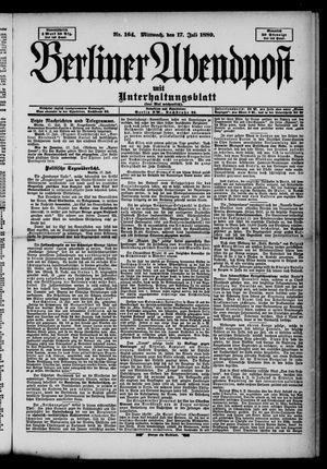 Berliner Abendpost on Jul 17, 1889
