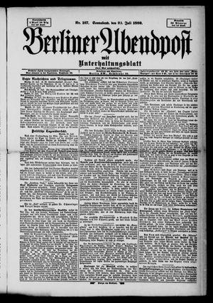 Berliner Abendpost on Jul 20, 1889