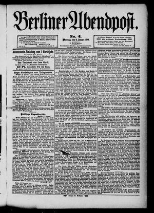 Berliner Abendpost vom 06.01.1890