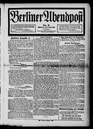 Berliner Abendpost vom 08.01.1890