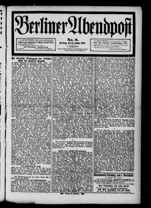 Berliner Abendpost vom 10.01.1890