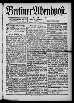 Berliner Abendpost vom 17.01.1890