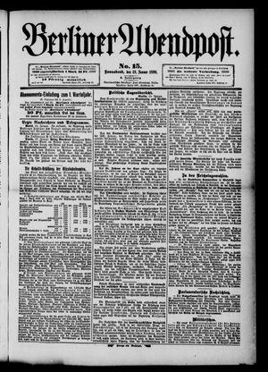 Berliner Abendpost vom 18.01.1890