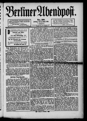 Berliner Abendpost vom 24.01.1890