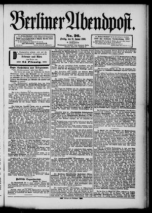 Berliner Abendpost vom 31.01.1890