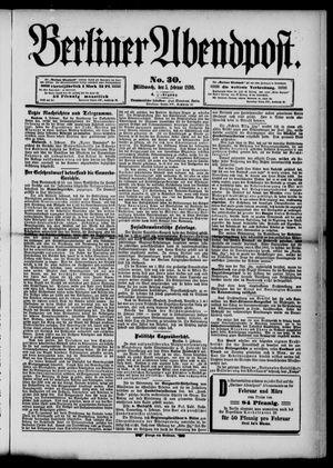 Berliner Abendpost vom 05.02.1890