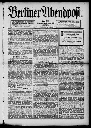 Berliner Abendpost vom 06.02.1890
