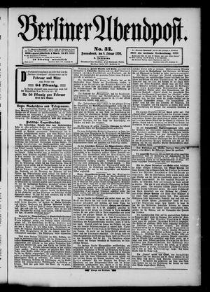 Berliner Abendpost vom 08.02.1890