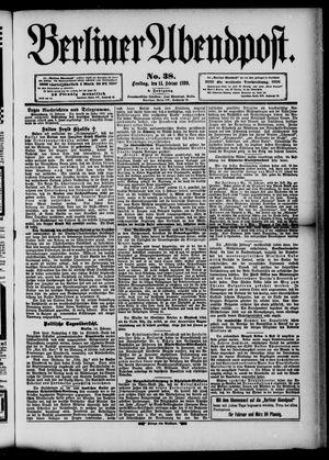Berliner Abendpost vom 14.02.1890
