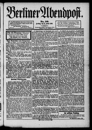 Berliner Abendpost vom 28.02.1890