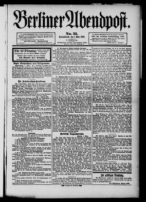 Berliner Abendpost vom 01.03.1890