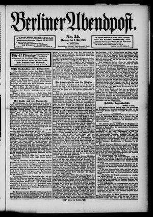 Berliner Abendpost vom 03.03.1890