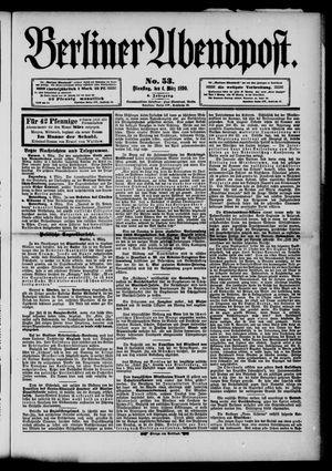 Berliner Abendpost vom 04.03.1890