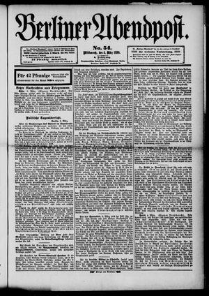 Berliner Abendpost vom 05.03.1890