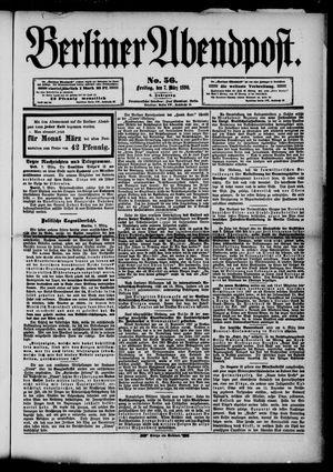 Berliner Abendpost vom 07.03.1890