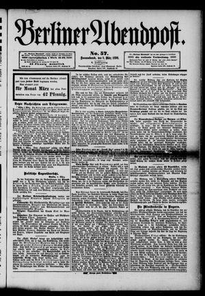 Berliner Abendpost vom 08.03.1890
