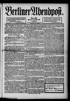 Berliner Abendpost vom 10.03.1890
