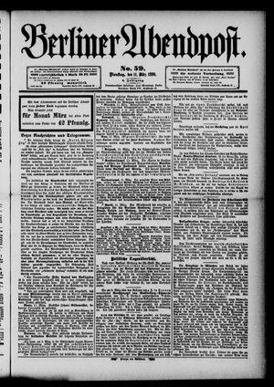 Berliner Abendpost vom 11.03.1890