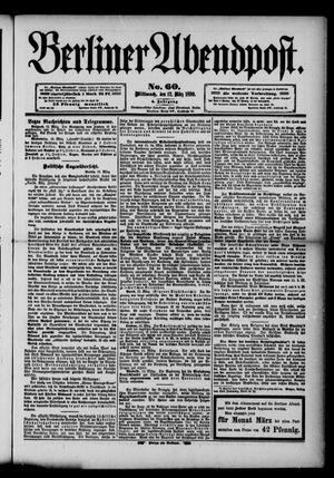Berliner Abendpost vom 12.03.1890