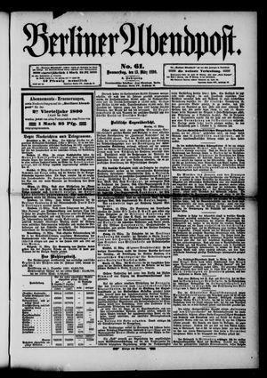 Berliner Abendpost vom 13.03.1890