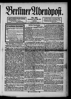 Berliner Abendpost vom 15.03.1890