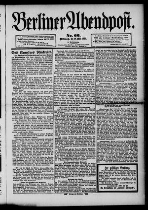 Berliner Abendpost vom 19.03.1890