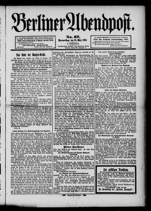 Berliner Abendpost vom 20.03.1890