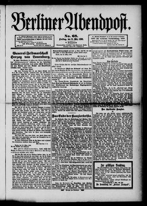 Berliner Abendpost vom 21.03.1890