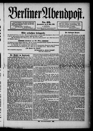 Berliner Abendpost vom 22.03.1890