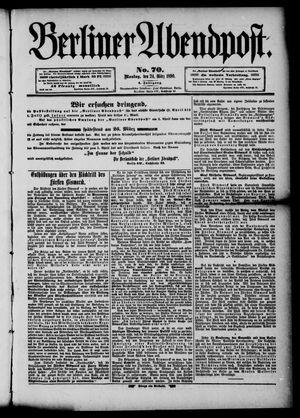 Berliner Abendpost vom 24.03.1890