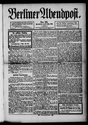 Berliner Abendpost vom 29.03.1890