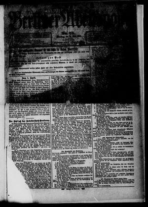 Berliner Abendpost vom 31.03.1890
