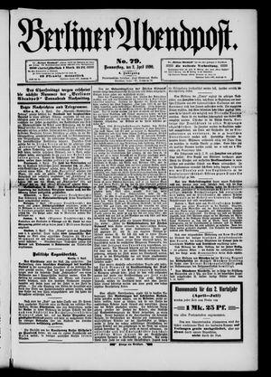 Berliner Abendpost vom 03.04.1890